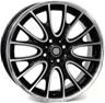Set 4pz Alloy wheels for mini, 18 inchs 36116785304 7,0jx18 4x100 et52  56,1 w1653 rivers nero diamantato wsp italy