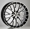 Alloy wheels for mazda,porsche,volkswagen, 19 inchs  8,5jx19 5x130 et50  71,6 piuma-c 5s1 nero diamantato etabeta